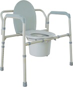 Commode - Bariatric - folding